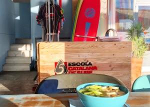 Escola catalana de surf logo